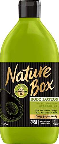 Nature Box Bodylotion Avocado, 385 ml