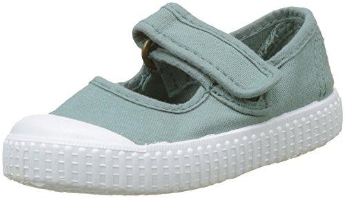 victoria Jungen Unisex-Kinder Mercedes Velcro Tintada Sneaker, Grün (Jade), 34 EU