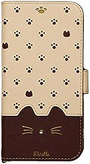 Minette iPhone11専用手帳型スマホケース iP19_61-MIN04 ブラウン
