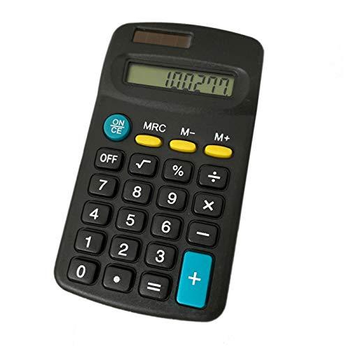 8-DIGIT LCD Mini Solar Taschenrechner, Rechenmaschine, Rechner, Schulrechner, Bürorechner, Tischrechner - Solarbetrieben