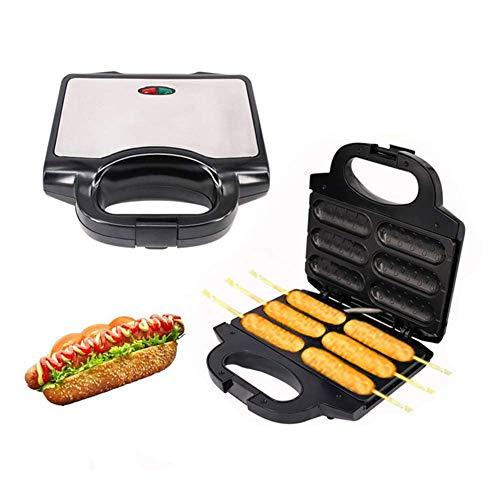 AMYZ Electric Waffle Sausage Maker,Crispy French Hot Dog Lolly Stick,Breakfast Pan,Baking Grill,Hotdog Machine,Kitchen Gift
