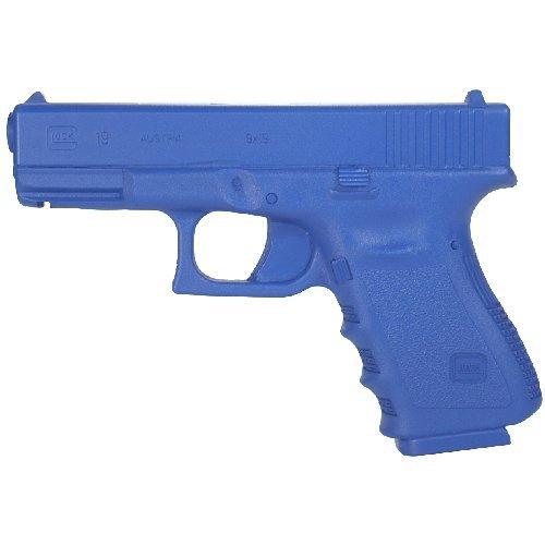 BlueGuns Training Replica Handgun, Weighted, Blue, Compatible with Glock 19 23 32