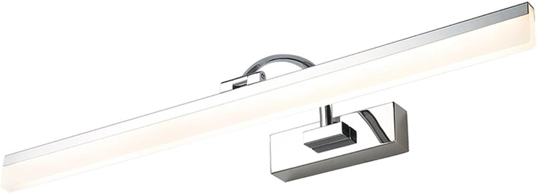 Spiegel-vorderes Licht LED wasserdicht Anti-fog einfaches modernes Badezimmer-Make-up beleuchtet 3 Farben (gre   40cm)