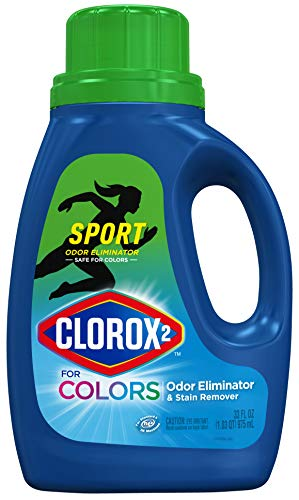 Clorox 2 for Colors Sport Odor Eliminator & Stain Remover, 33 oz (Package May Vary), 33 Fl Oz