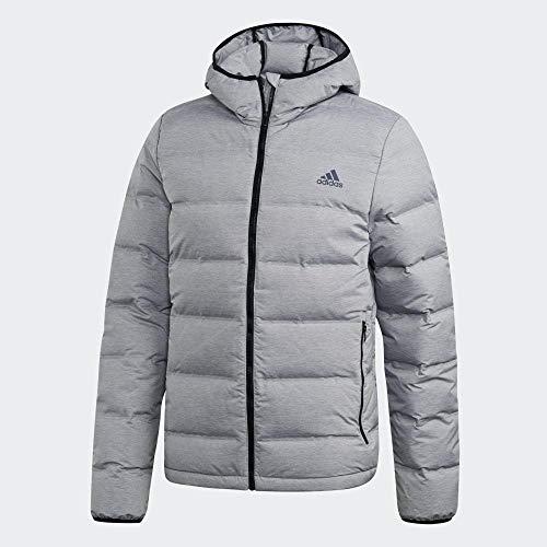 adidas HELIONIC Mel Sport Jacket, Hombre, Medium Grey Heather, L