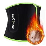 SYXUPAP Fitnessgürtel Bauchweggürtel - Beschleunigt Abnehmen, Fettverbrennung, Schwitzen und Sauna Effekt für Damen Herren - Laufen und Training
