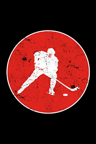 Hockey: A5 Liniertes Notizbuch auf 120 Seiten - Hockey Notizheft | Geschenkidee für Hockeyspieler, Vereine und Mannschaften