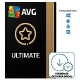 AVG Ultimate - Antivirus con AVG Secure VPN y AVG TuneUp para agilizar su PC - Para descargar | 10 Dispositivo | 1 Año | PC/Mac | Código de activación enviado por email