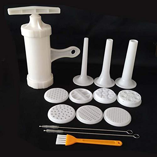 SHIJING Manuelle Wurstfüllhorn Füllung Making Machine Wurstfüller Salami-Hersteller und Trichter Handgemachte Nudel der Hersteller Kochen