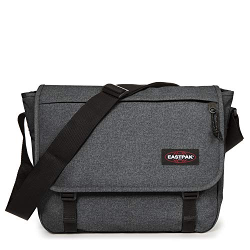 Eastpak Delegate + Borsa Messenger, 39 Cm, 20 L, Grigio (Black Denim)