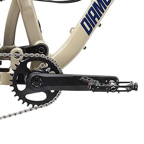 Product Image 17: Schwinn S29 Mens Mountain Bike, 29-Inch Wheels, 18-Inch/Medium Aluminum Frame, Dual-Suspension, Mechanical Disc Brakes, Matte Black
