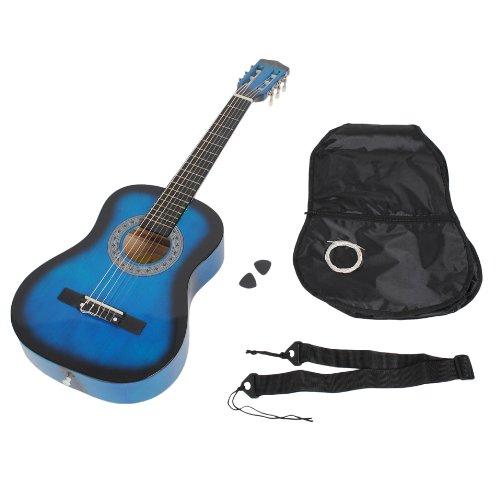 ts-ideen - Guitarra de concierto acústica (1/2, infantil,