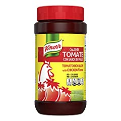 Knorr Granulated Chicken with Tomato Flavor Bouillon blends tomato and chicken flavors with onions, parsley and other spices Adds that authentic Knorr flavor Made with natural flavors Fat free & cholesterol free Lipton Black Tea is made with only 100...