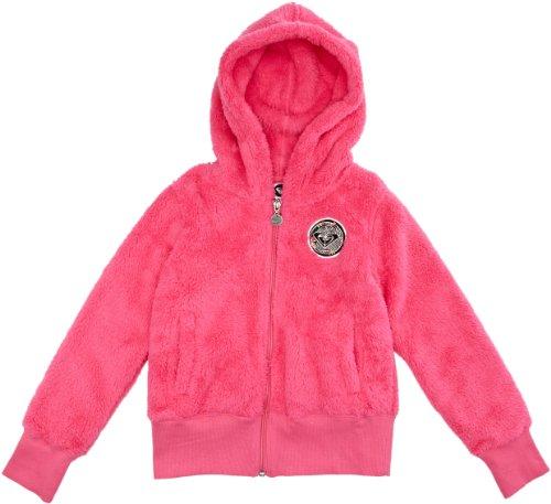 Roxy Mädchen Kaputzen Polar Sugar Honey Zip, strawberry pink, 164 / 14 Jahre, WPTPO013-SWP-164 / 14 Jahre