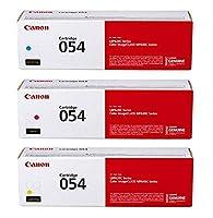 【純正品 4色5本セット】 Canon/キヤノン トナーカートリッジ054ブラック2本+CRG054 シアン・マゼンタ・イエロー (CRG-054) (LBP621C, LBP622C, Satera MF642Cdw, Satera MF644Cdw 対応)