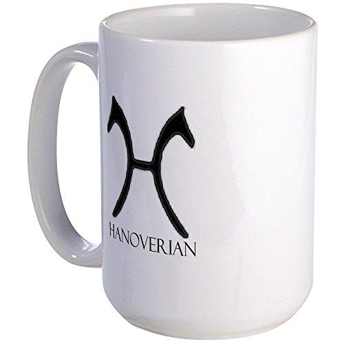 CafePress - Hannoveranische große Tasse – Kaffeetasse, groß 425 ml, weiße Kaffeetasse