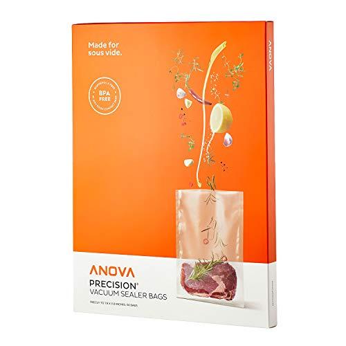 Anova Culinary Anova Pre-Cut Sous Vide Vacuum Sealer bags, One size, Clear