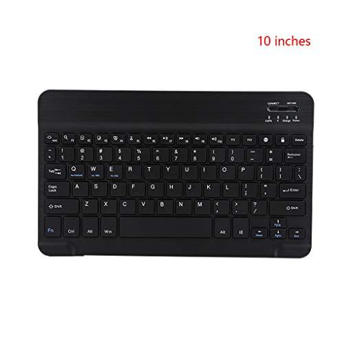 beIilan 10-Zoll-bewegliche drahtlose Tablette drahtlose Tastatur drahtlose Bluetooth 3.0 Tastatur Tablet Laptop Telefon Universeller Keypad