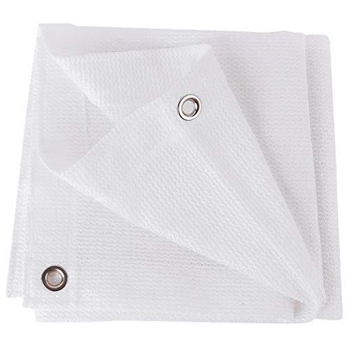 Protección contra las Sombras color sólido jardín de la cortina de tela de sombreado neto del agujero del metal inoxidable de Protección Ambiental de poliéster, 20 Tamaños Respetuoso del medio ambient