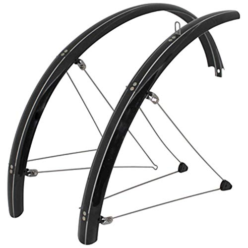 Spatbord voor mountainbike, 26 inch, Stronglight Country, 54 mm, zwart (paar)