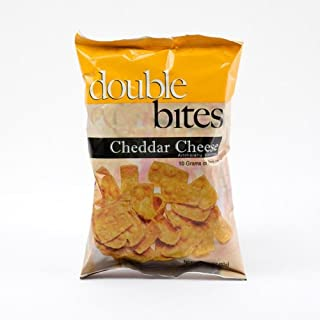 CarbEssentials Double Bites- Cheddar Cheese (6 Bags)