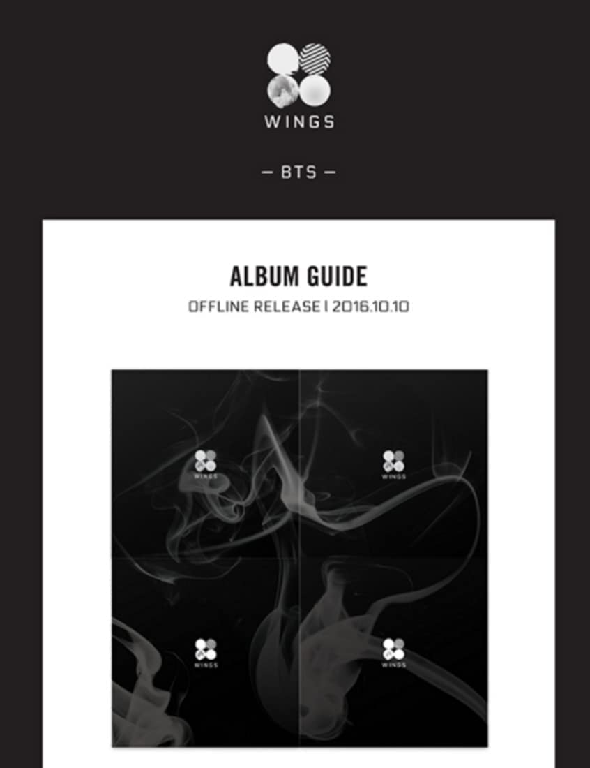 BTS - WINGS Vol.2 Ranking TOP18 Max 84% OFF W ver. Poster CD Official Folded Ex with