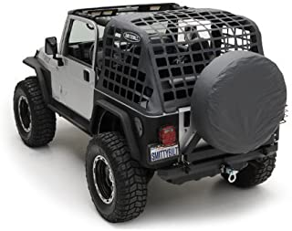Smittybilt 561035 Black Diamond C.RES System Cargo Net for Jeep Wrangler TJ