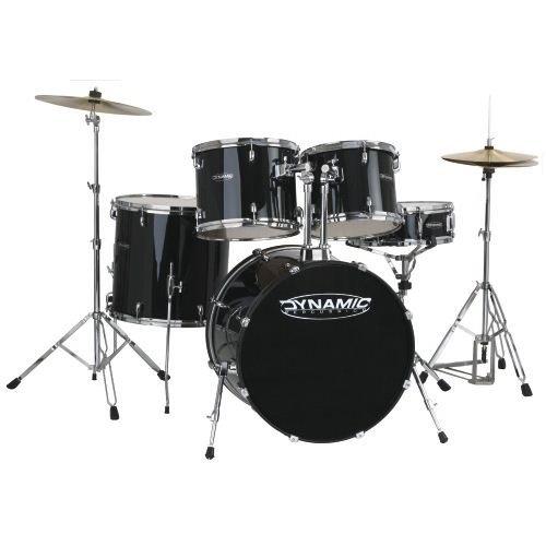Basix Dynamic Schlagzeug Fusion Black