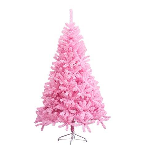 Veylin - Albero di Natale con 700 punte, con supporto in metallo, colore: Rosa
