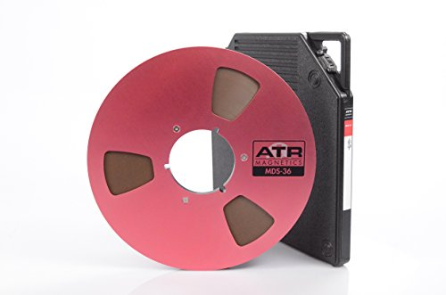 Long Play Analog Recording Tape by ATR Magnetics | 1/4 MDS-36 - Modern Classic Sound | 10.5 Nab Reel | 3600 of Analog Tape
