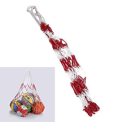 Large Sports Ball Hoop Mesh Net Hoop Mesh Net 10 10 Balls Carry Net Bag for Basketball Football