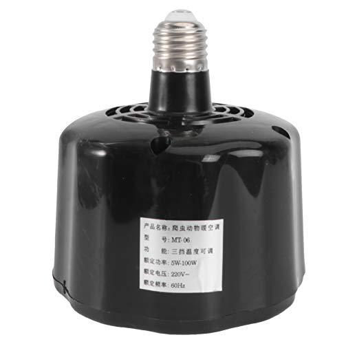 YARNOW Lámpara de Calor para Lámpara de Preservación de Calor Lámpara de Calor de Reptil Calentador de Gallinero Lámpara Termostato Inteligente para Reptil (Uso de Reptil)