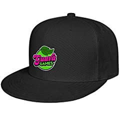 The Baseball Caps One size fits most head sizes and the classic six-panel design with embroidered eyelets for comfortable fit. This Guava-Juice-Box-Logo- snapback baseball Cap made of breathable and 100% high quality cotton.It is soft comfortable and...