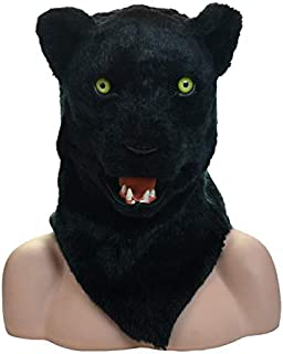 WNGCAR AU Mobile Oral Adult Mask Standard Panther Mask (Color : Black)