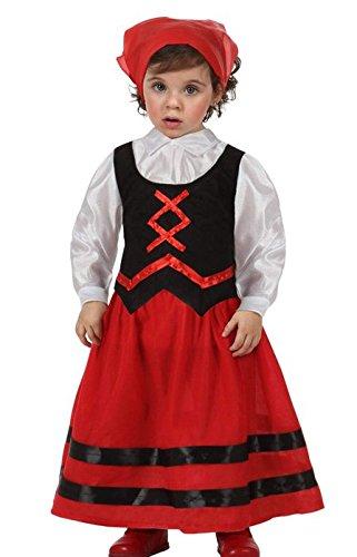 Disfraz de pastora para bebé