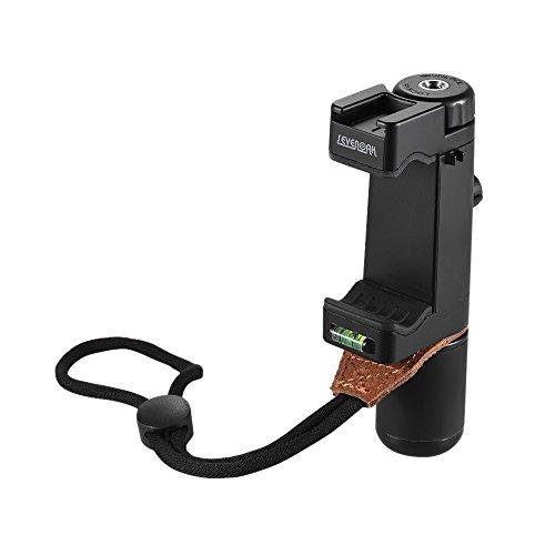 Andoer Sevenoak SK-PSC1 Hand Smart Grip SmartPhone Clip Clamp-Halter-Unterstützung Ständerrahmen Halterung Tripod Mount Adapter Hot-Shoe-Halterung für iPone 7 / 6s / 6 für Samsung Huawei Handy-Handy