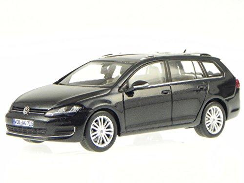 VW Golf 7 Variant 2013 schwarz deep black perl Modellauto Spark 1:43
