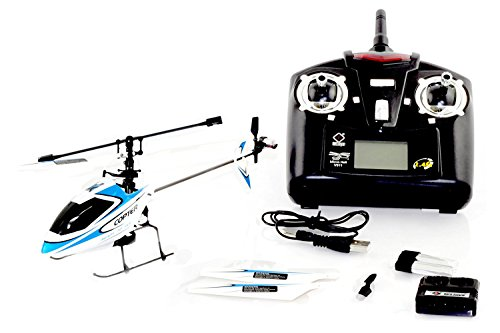 Our #4 Pick is the Cheerwing S107/S107G Phantom 3CH 3.5 Channel Mini RC Helicopter