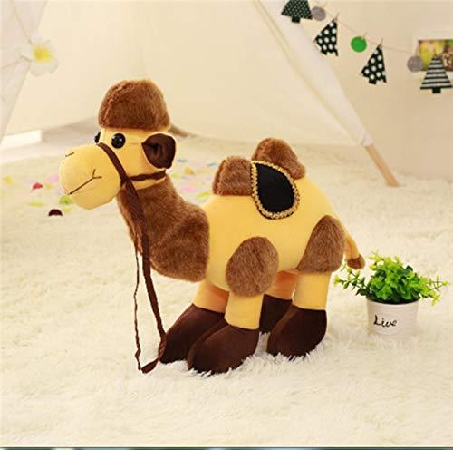 Juguete de Peluche de Camello del Desierto, muñeca de Camello Creativa, Linda muñeca de Trapo, Almohada súper Linda, Regalo de Alpaca para niños, Camello de 35 cm