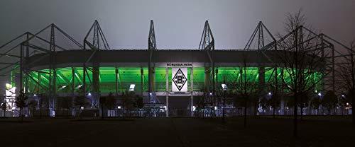 Mönchengladbach Stadion Panorama – Poster 120 x 50 cm – hochwertiger FineArtPrint