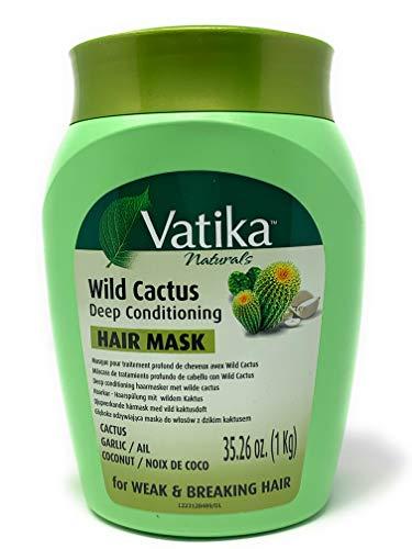 Dabur Vatika Wild Cactus Deep Conditioning Hair Mask 1kg - for weak & breaking hair