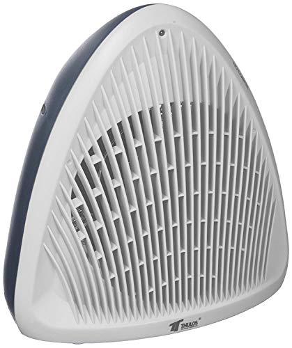Thulos Termoventilador Calefactor 2000W Estufa electrica de Alta Potencia y diseño Blanco...
