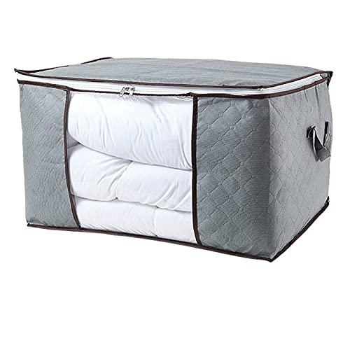 Aufbewahrungsbox für Zuhause, verstärkt, Vlies, gesteppt, Aufbewahrungstasche für Kleidung