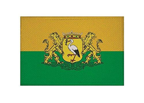 U24 Aufnäher Den HAAG Fahne Flagge Aufbügler Patch 9 x 6 cm