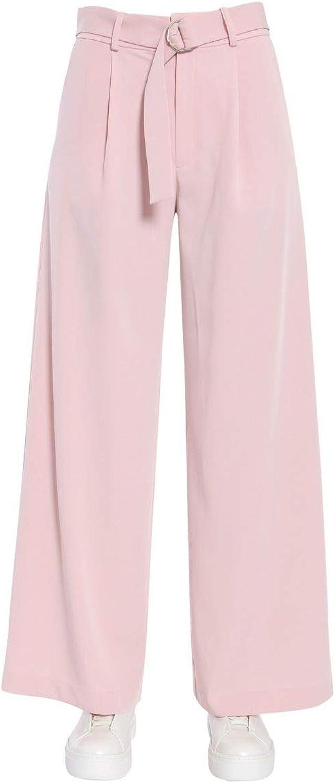 JOVONNA LONDON Women's FEDEPINK Pink Polyester Pants