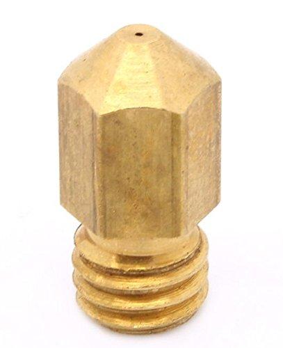 1 X Nozzle Accuratezza 0.2mm Per Filamento Da 3mm Adatto A Stampanti 3D