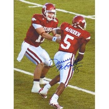 Darren McFadden Arkansas Razorbacks Autographed 8.5x11 Photo. This item comes with a certificate of authenticity from Autograph-Sports. Autographed - Autographed College Photos