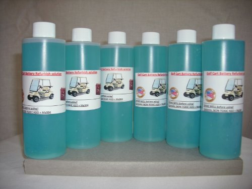 Liquid Solution Refurbish Fix Repair Renew Golf Cart Batteries Battery Kit