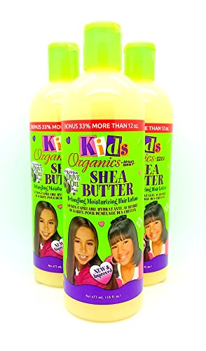 Africa's Best Kids Organic Detangling Moisturizing Hair Lotion Bonus 33% 16 oz by Africa's Best