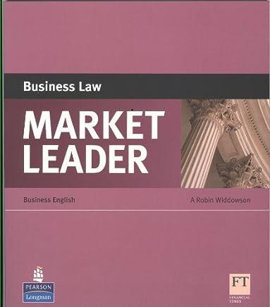 Market Leader ESP Book - Business Law by Robin Widdowson(2010-04-01)